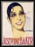 Josephine Baker Framed Giclee Print by Gaston Girbal