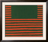 West Broadway, c.1958 Print by Frank Stella
