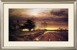 Burnished Sky Print by Benjamin Williams Leader