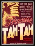 Josephine Baker, Tam Tam Framed Giclee Print
