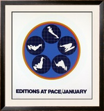 Editions at Pace, 1969 Prints by Ernest Trova