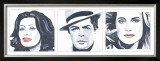 Sophia Loren, Marcello Mastroianni, Catherine Deneuve Poster by Bob Celic