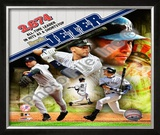 Derek Jeter Most Career Hits by a Shortstop Framed Photographic Print