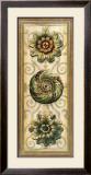 Classic Rosette Panel I Art