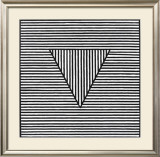 Triangle, c.1980 Print by Sol Lewitt