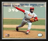 Bob Gibson Framed Photographic Print