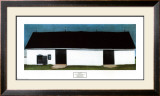 White Canadian Barn No. 2, 1932 Prints by Georgia O'Keeffe