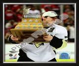 Evgeni Malkin 2009 with Conn Smythe Framed Photographic Print