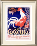 Cocorico Framed Giclee Print by Jules-Alexandre Grün