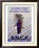 S.N.C.F Framed Giclee Print by Paul Colin