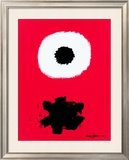 White Disc Red Ground, c.1967 Posters by Adolph Gottlieb