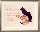 Bodiniere Expo Framed Giclee Print by Théophile Alexandre Steinlen