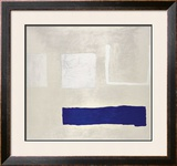 White and Blue, c.1960 Art by William Scott
