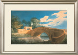 Perspective View of the Bridge with the Gateway Posters by Joseph Gandy