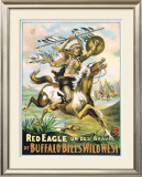 Red Eagle Framed Giclee Print