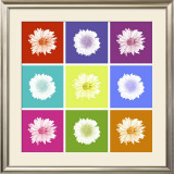 Vivid Bouquet Print by Jason Johnson