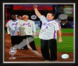 Gary Carter Final Game at Shea Stadium 2008 Framed Photographic Print