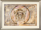 Classical Fanfare I Print by Ervin R. Clark