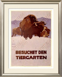 Besochet Den Tiergarten Framed Giclee Print by Ludwig Hohlwein