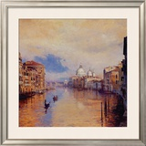 The Grand Canal Prints by Curt Walters