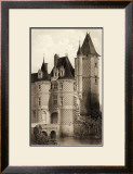 Sepia Chateaux VII Posters by Victor Petit