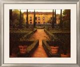 Garden Manor Posters by Montserrat Masdeu