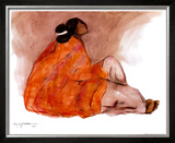 Seated Woman Prints by R. C. Gorman