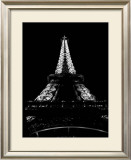 Tour Eiffel la Nuit Art by H. Jennings Sheffield