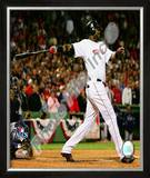 David Ortiz Game 5 of the 2008 ALCS Framed Photographic Print