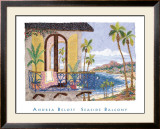Seaside Balcony Prints by Andrea Beloff
