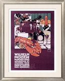 Wilhelm Mozer Framed Giclee Print by Ludwig Hohlwein
