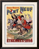 Pont Neuf Framed Giclee Print by Henri Gray