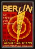 Ruttmann Berlin Symphony of a Great City Framed Giclee Print
