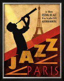 Jazz in Paris, 1970 Posters por Conrad Knutsen