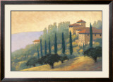 Villa d'Or II Print by Mac Stephenson