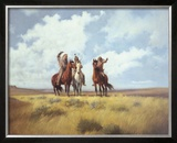Indian Scouts Limited Edition Framed Print by Harry Bishop