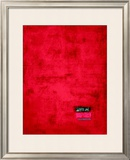 Untitled, c.1991 (Red) Prints by Jürgen Wegner