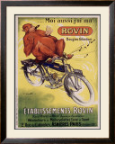 Rovin Framed Giclee Print by A. Cometti