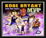 Kobe Bryant -'09 Finals MVP Framed Photographic Print
