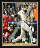 Carlos Pena Game 5 of the 2008 MLB World Series Framed Photographic Print