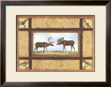 Moose Lake Lodge Prints by Zachary Alexander