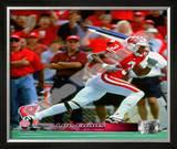 Lee Evans University of Wisconsin Badgers 2001 Framed Photographic Print