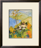 Village Above the Lake Art by Hermann Hesse