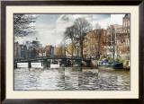 Zwanenburgwal Canal Prints by Pep Ventosa