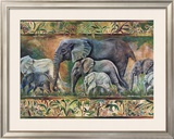 Elephant Parade Prints by Pat Woodworth