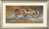 Colors in the Dust Framed Giclee Print by Dawn Emerson