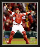 Yadier Molina Framed Photographic Print