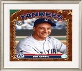 Lou Gehrig Framed Photographic Print