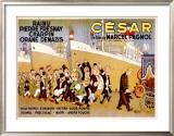 Cesar Framed Giclee Print by Albert Dubout