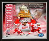 Henrik Zetterberg 2007-08 NHL Conn Smyth Trophy Winner Framed Photographic Print